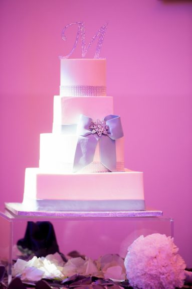 The cake was classic and gorgeous