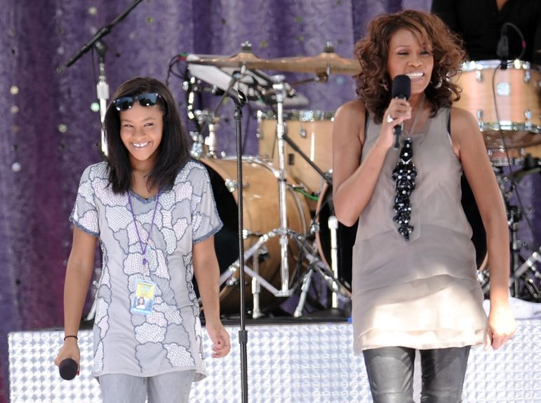 Whitney and Bobbi Kristina performing together on the Today Show.