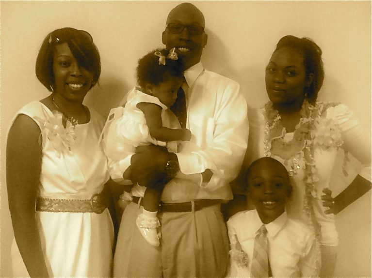 "The beautiful Ross family. John says, ""A successful family creates goals and takes the steps to accomplish them."""