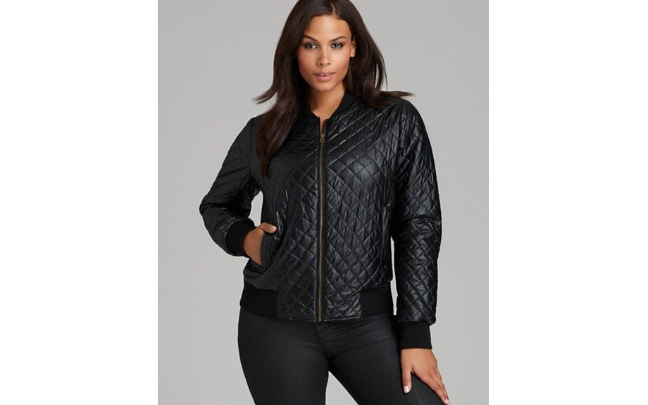 """Anna Scholz Quilted Bomber Jacket ($565, <a href=""""http://www.bloomingdales.com"""">www.bloomingdales.com</a> )"""