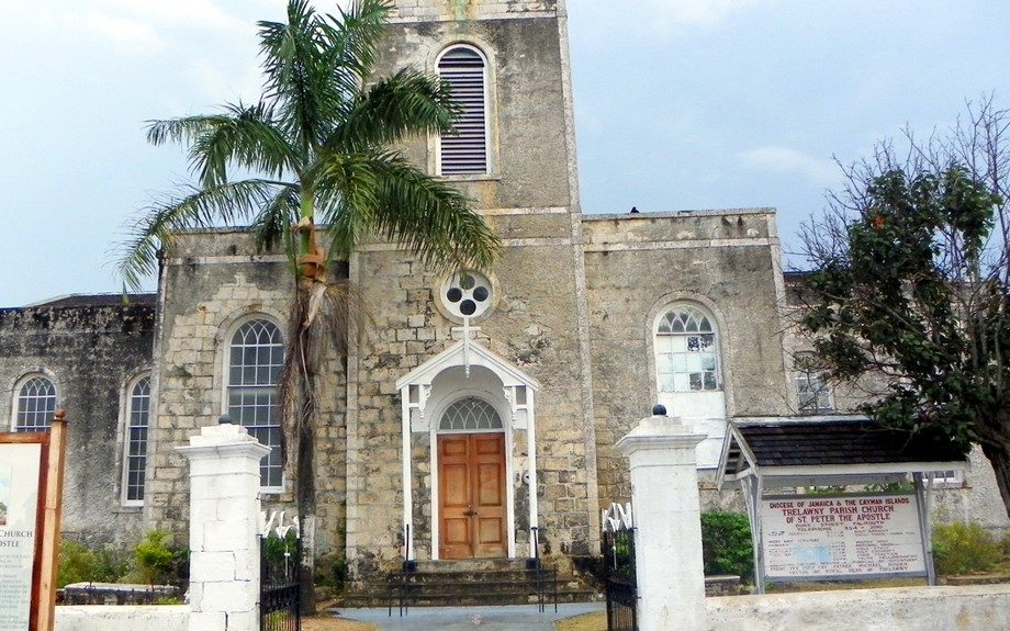 St. Peter's Anglican Church, Falmouth