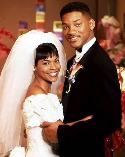 <strong><em>The Fresh Prince of Bel-Air. </em></strong><em>Fresh Prince of Bel-Air's </em>pairing of the humorous Philly dude and oh-so-cute pixie Lisa Wilkes were a match made in TV heaven.