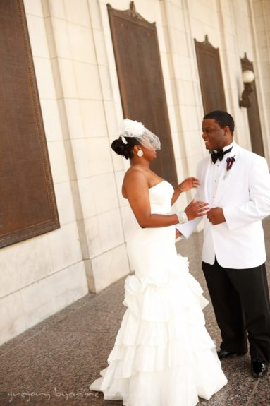 Oh, just another lovely Black couple getting ready to wed. No biggie!