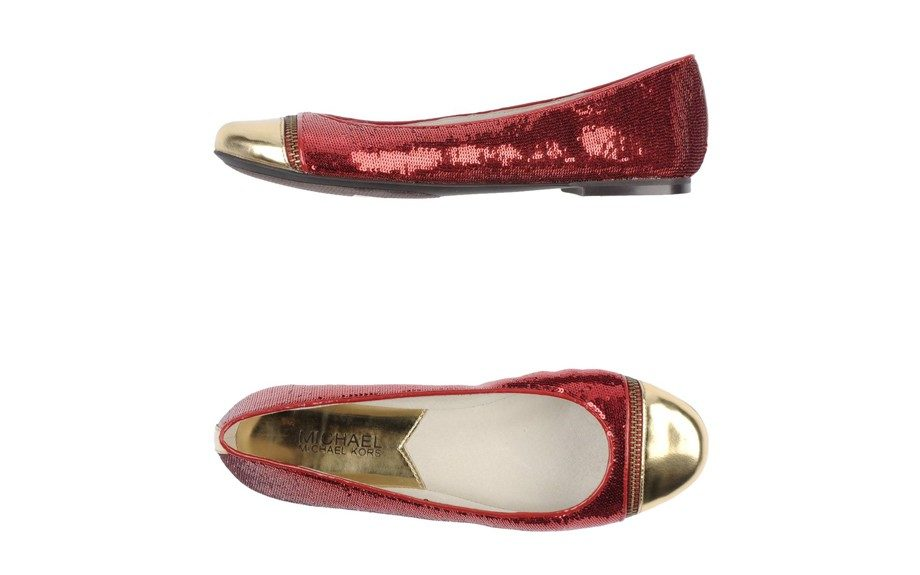 """Just in case you're feeling jazzy: MICHAEL Michael Kors Ballet Flats,$95, <a href=""""http://www.yoox.com/us/44595770IF/item?dept=women&tp=11227&utm_campaign=affiliazione_us&utm_content=15&utm_medium=affiliazione&utm_source=linkshare_us#cod10=44595770IF&si"""