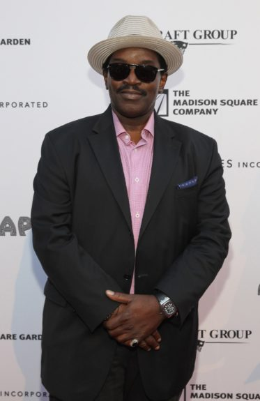 Fab 5 Freddy arrives at the10thannualApollo Spring Gala