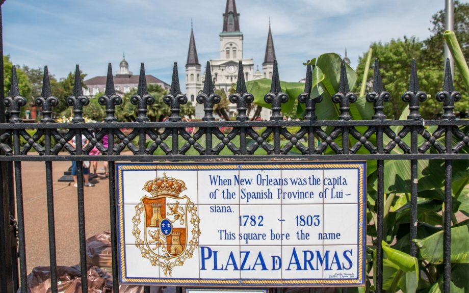 13. Jackson Square is a historic park in the French Quarter that's always buzzing with visitors.  	Photo Credit: Whitney Tucker