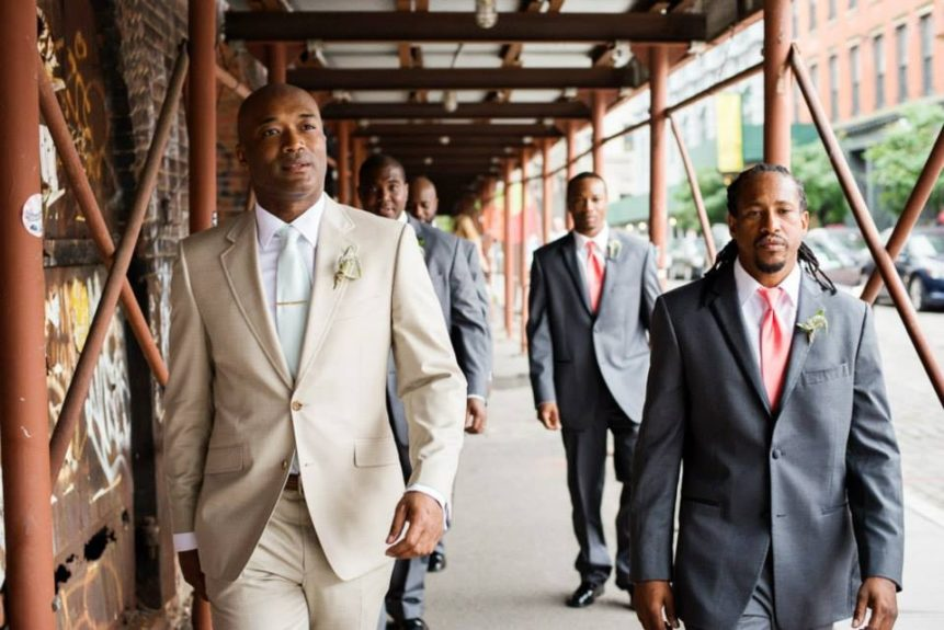 The groomsmen are taking over NYC, baby!