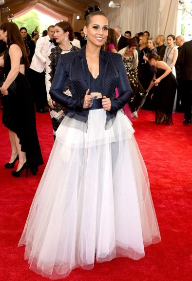 Alicia Keys at the 2015 Met Costume Institute Gala