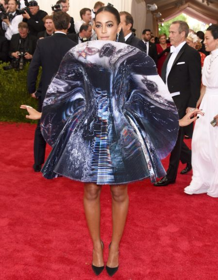 Solange at the 2015 Met Costume Institute Gala
