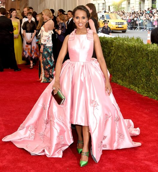 Kerry Washington at the 2015 Met Costume Institute Gala