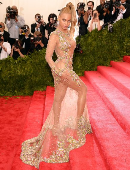 Beyoncé at the 2015 Met Costume Institute Gala