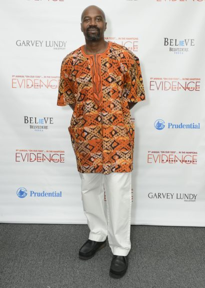 "Ron Brown attends the Evidence, A Dance Company Hosts 9th Annual ""On Our Toes""...In the Hamptons Summer Benefiton August 18, 2012 in Bridgehampton, New York."
