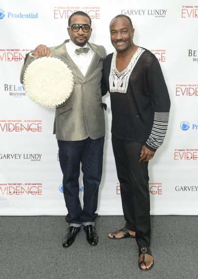 "LeRon Wilson and Reginald Van Lee attend the Evidence, A Dance Company Hosts 9th Annual ""On Our Toes""...In the Hamptons Summer Benefiton August 18, 2012 in Bridgehampton, New York."