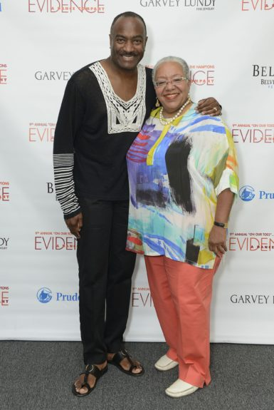 "Reginald Van Lee and Lola West attend the Evidence, A Dance Company Hosts 9th Annual ""On Our Toes""...In the Hamptons Summer Benefiton August 18, 2012 in Bridgehampton, New York."
