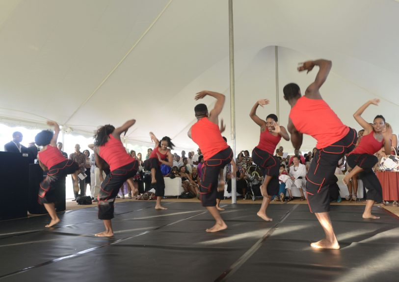"vidence, A Dance Company perform at the 9th Annual ""On Our Toes""...In the Hamptons Summer Benefiton August 18, 2012 in Bridgehampton, New York."