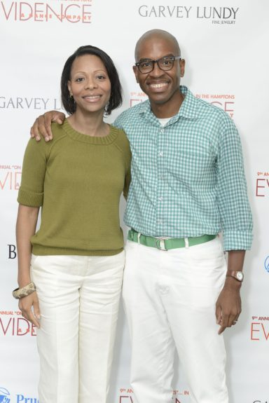 "Gillian Canal and Reginald Canal attend the Evidence, A Dance Company Hosts 9th Annual ""On Our Toes""...In the Hamptons Summer Benefiton August 18, 2012 in Bridgehampton, New York."