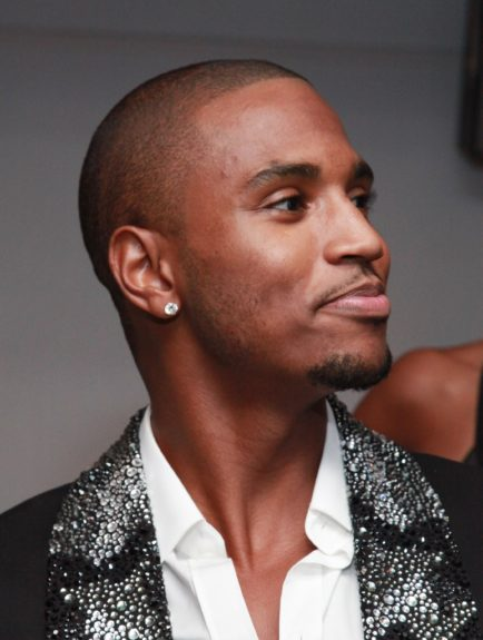 Trey Songz in a proud moment
