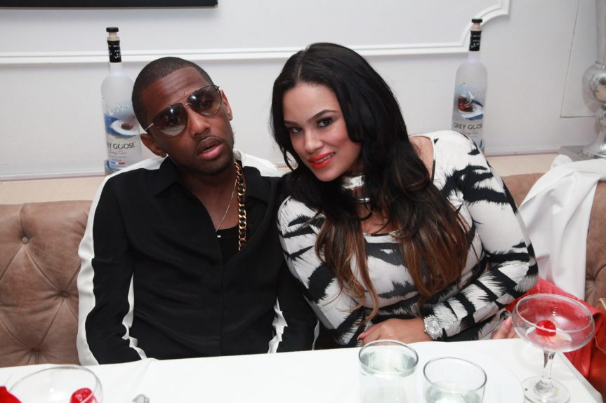 Fabolous and Emily B.