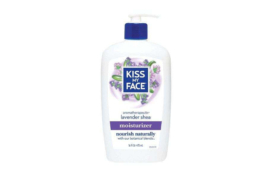 "Kiss My Face Lavender and Shea Moisturizer will naturally leave skin conditioned throughout the winter. $11.95, <a href=""http://www.kissmyface.com/natural-body-products/item/31/Lavender---Shea-Butter-Moisturizer"">www.kissmyface.com</a>."
