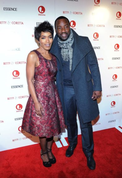 """Angela Bassett and Malik Yoba attend the premiere of """"Betty & Coretta"""" to celebrate with Lifetime and cast at Tribeca Cinemas in New York City."""