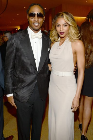 Thought Ciara was the past? Nope: Ciara, with Future.
