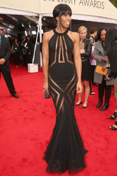 Kelly Rowland skips Michelle Williams's <em>Fela</em>show for her previous engagement at the Grammys.