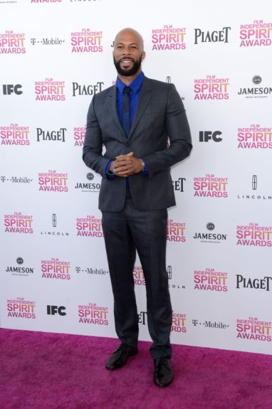 Common at the 2013 Film Independent Spirit Awards.