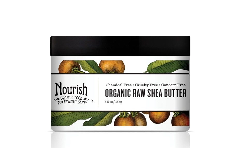 "Stay smooth and soft with this Nourish Organic Raw Shea Butter. We love the natural, fresh scent. $14.99, <a href=""http://nourishorganic.com/products/organic-raw-shea-butter"">www.nourishorganic.com</a>."