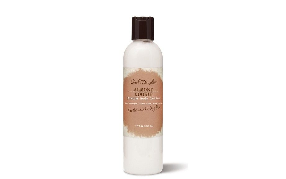 "Carol's Daughter Almond Cookie Frappé Body Lotion is a light formula created to nourish normal-to-dry skin--- with the sweet smell of cookies to boot! $18, <a href=""http://www.carolsdaughter.com/Portal.aspx?CN=AF0FEADADDA5&BCID=574A2CAD6158"">www.carolsdaughter.com</a>"