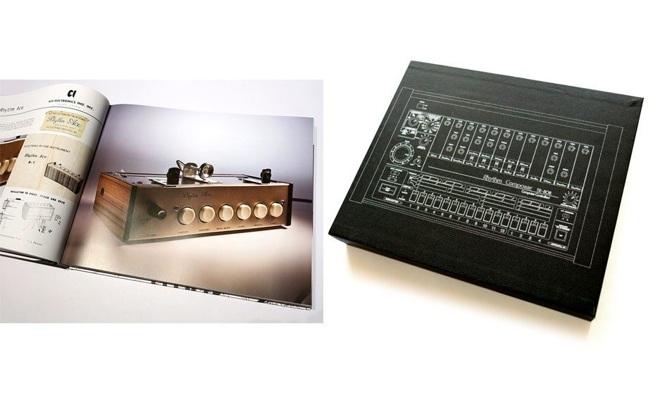 """Joe Mansfield's 200-page Beat Box: A Drum Machine Obsession $58.98. <a href=""""http://www.stonesthrow.com/store/special-edition/joemansfield/beat-box-book-tape-45"""" target=""""_blank"""">stonesthrow.com</a>"""