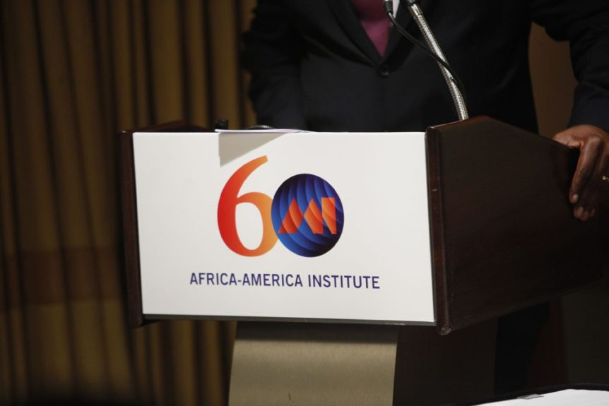 Luminaries attend Africa-America Institute 60th Anniversary Awards Gala at New York Hilton.