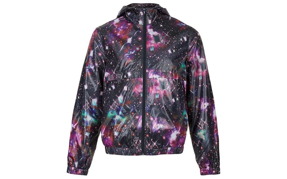 <strong>For theTrendsetter</strong>  TopmanMulti Galactic Print Jacket ($90,