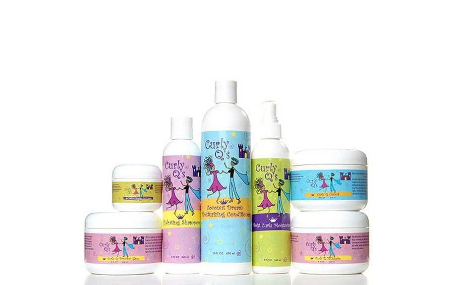 """Curly Q's Collection, $12-$18,<a href=""""http://www.curlmart.com/brand/curly-q-s/"""" target=""""_blank"""">Curlmart.com</a>"""