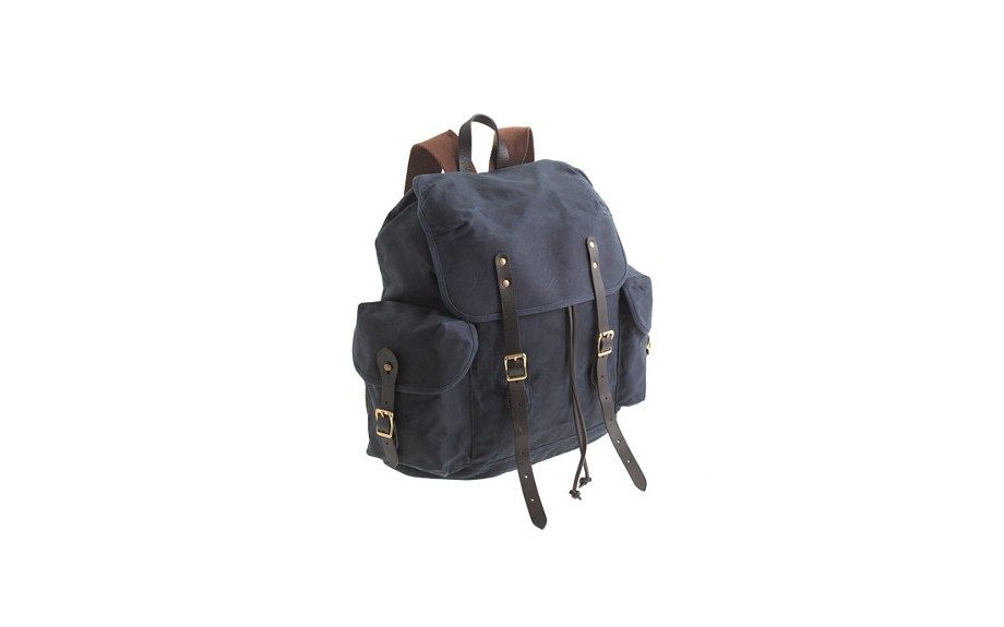 "<a href=""http://www.jcrew.com/mens_category/bags/PRDOVR~51650/51650.jsp"" target=""_blank""><strong>Abingdon Rucksack</strong></a> ($128.00, available at J.Crew)"