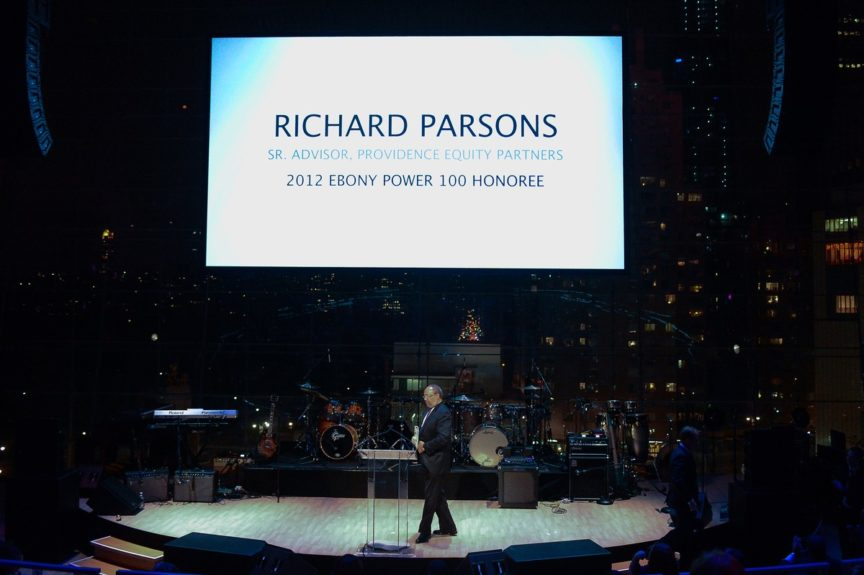 Richard Parsons speaks about power