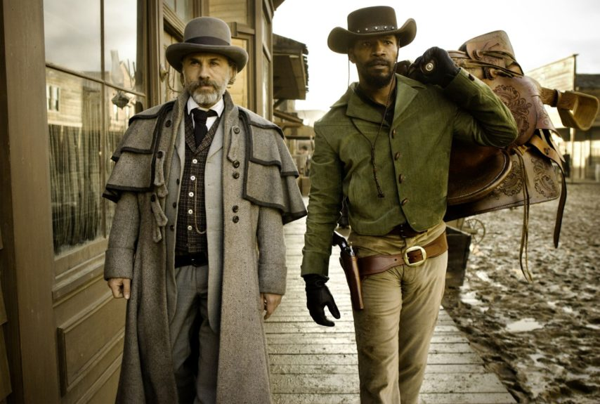 <em>Django Unchained</em> (2012): German bounty hunter King Schultz helps the formerly enslaved Django search for his wife, turning the peculiar institution into a revenge fantasy only Quentin Tarantino could get away with.