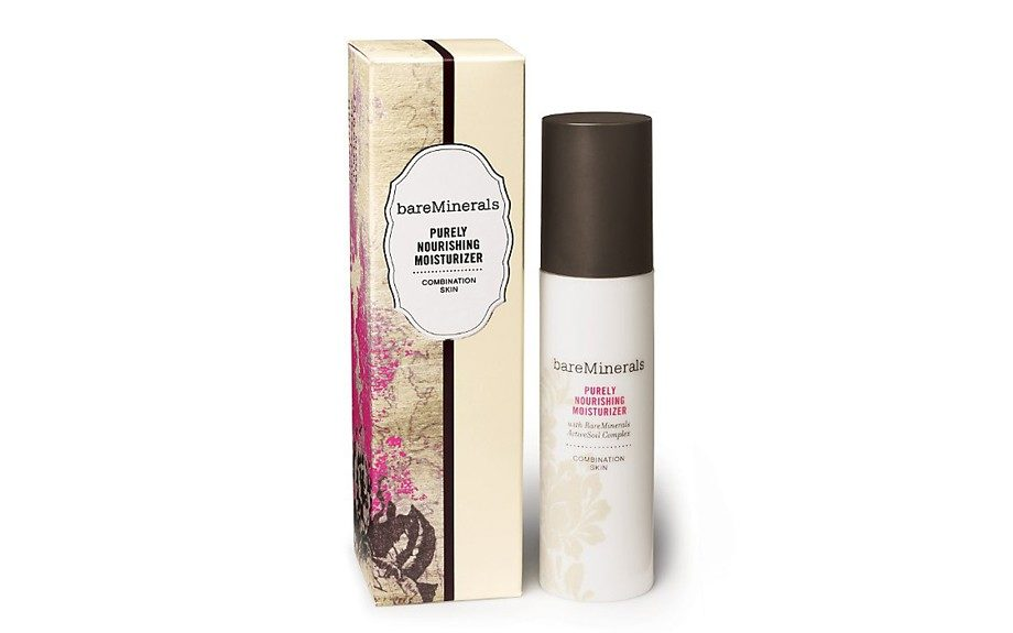 "Stop skin's indecisiveness with this lightweight BareMinerals Purely Nourishing Moisturizer for combination skin. $28, <a href=""http://www.ulta.com/ulta/browse/productDetail.jsp?productId=xlsImpprod3090001"">www.ulta.com</a>. <div> 	 </div>"