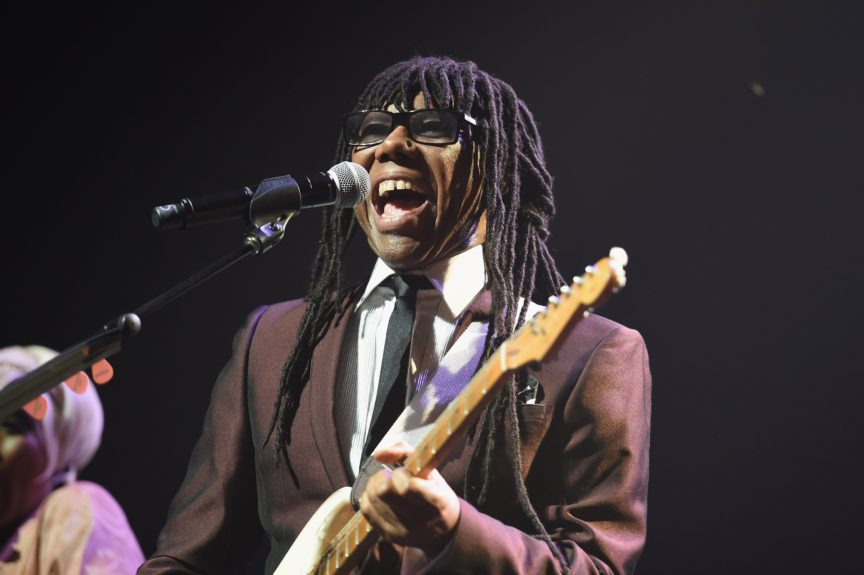 Nile Rodgers rocks the house with Chic at the 10th annual Apollo Spring Gala