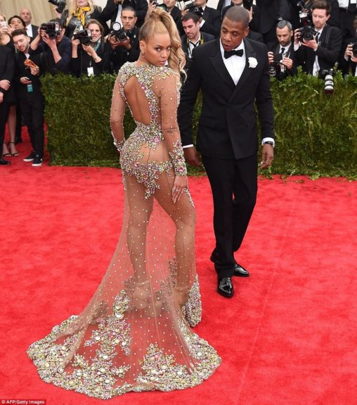 Beyoncé and Jay Z at the 2015 Met Costume Institute Gala