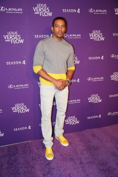Host Laz Alonso tapes 'Verses and Flow' at Siren Studios in Hollywood