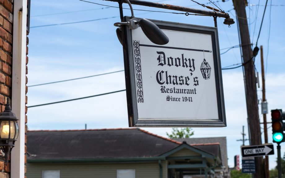 2. You can tell by the sign, Dooky Chase has been a thriving family restaurant for a very long time.  	Photo Credit: Whitney Tucker