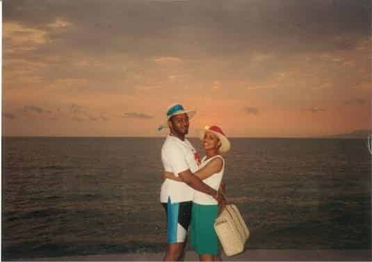 <strong>John and Carolyn.</strong> They met at his fraternity's picnic at Western Michigan University. He is a Kappa and she is an AKA from Illinois State University.
