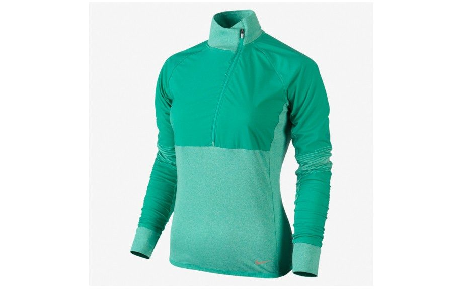 """<strong>Nike Sphere Dry Half-Zip Top ($78,<a href=""""http://store.nike.com/us/en_us/pd/sphere-dry-half-zip-running-top/pid-654808"""" target=""""_blank"""">nike.com</a>)</strong> <div> </div>"""