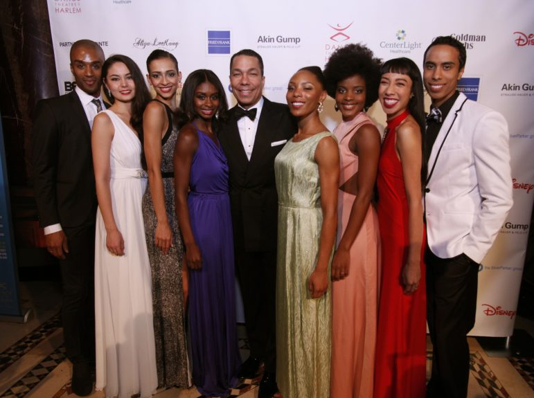 DTH Company Dancers with Honoree Valentino D. Carlotti