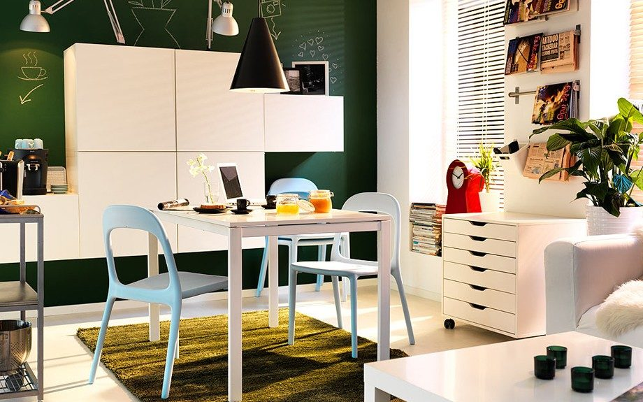 <strong>Ikea</strong>: You can literally design your entire home with the huge variety of pieces that Ikea has to offer.
