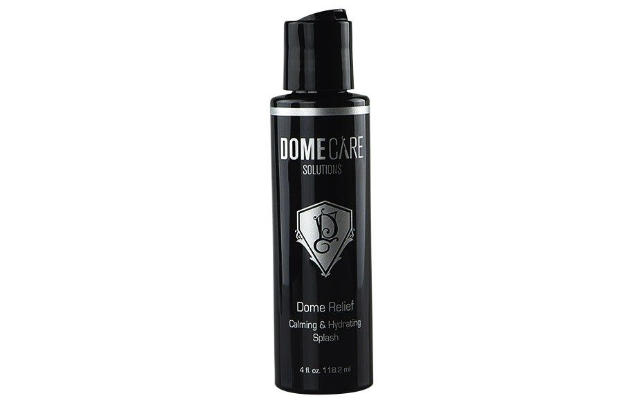 """<a href=""""http://www.domecaresolutions.com/products/dome-relief-calming-hydrating-splash.html"""">Dome Relief Calming & Hydrating Splash</a><strong>($27.00)</strong>"""