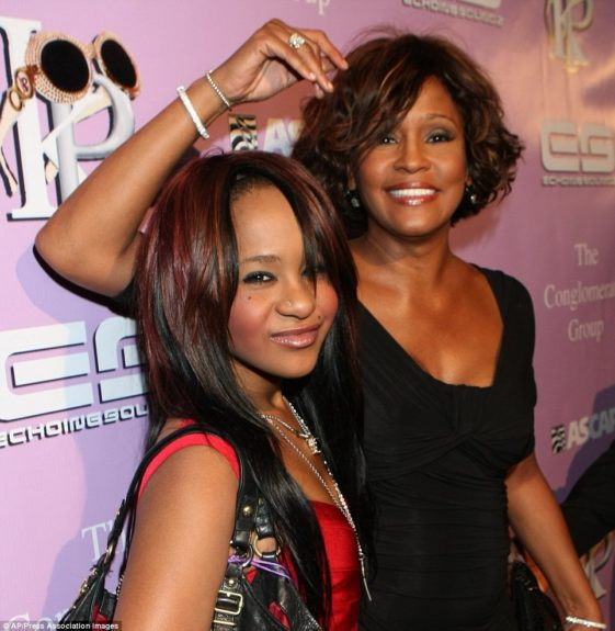 Whitney and Bobbi made several red carpet appearances together
