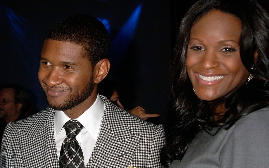 A bright smile always graced Tameka'sface in her early days with Usher