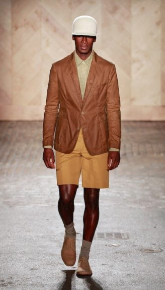 Monochromatic: Perry Ellis by Duckie Brown Spring 2013