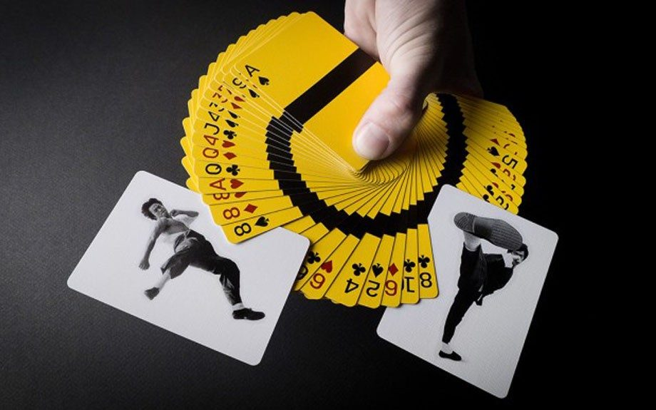 """Bruce Lee Fight Playing Cards $6.38 <a href=""""http://www.amazon.com/s/ref=nb_sb_noss_2?url=search-alias%3Daps&field-keywords=bruce+lee+playing+card"""" target=""""_blank"""">Amazon.com</a>"""
